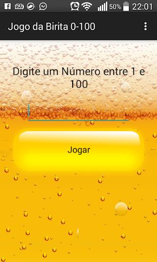 Jogo da Birita 0-100
