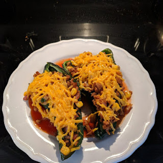 Stuffed Poblano Peppers Recipe