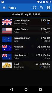 Exchange Rates - screenshot thumbnail