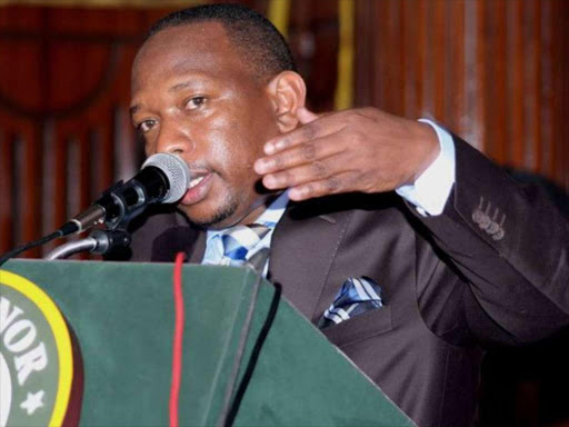 Governor Mike Sonko has told Nairobi residents to walk instead of relying on matatus to take them to the Central Business District. /COURTESY