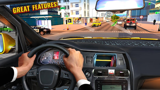 Pro Taxi Driver : City Car Driving Simulator 2020 1.1.8 screenshots 1