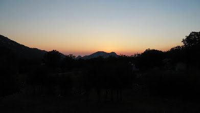 Photo: zalazak sunca na V.Rujnu