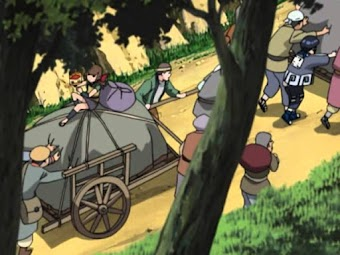 Naruto - Open for Business!  The Leaf Moving Service
