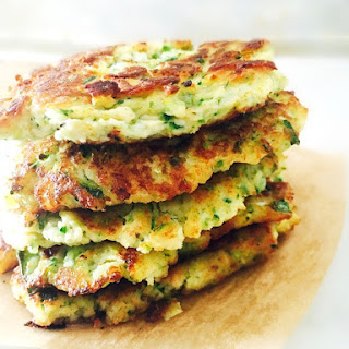Zucchini Patties.