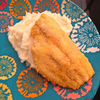 Vegetarian Challenge - Day 6 (Cornmeal-Crusted Catfish)