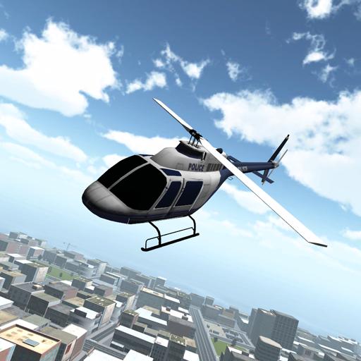 フライト警察ヘリコプター2015 模擬 App LOGO-APP試玩