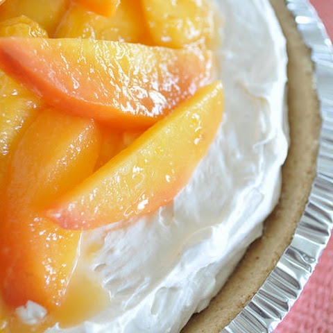 Lite Cheese Cake With Cottage Cheese Whipped Cream And Pineapple