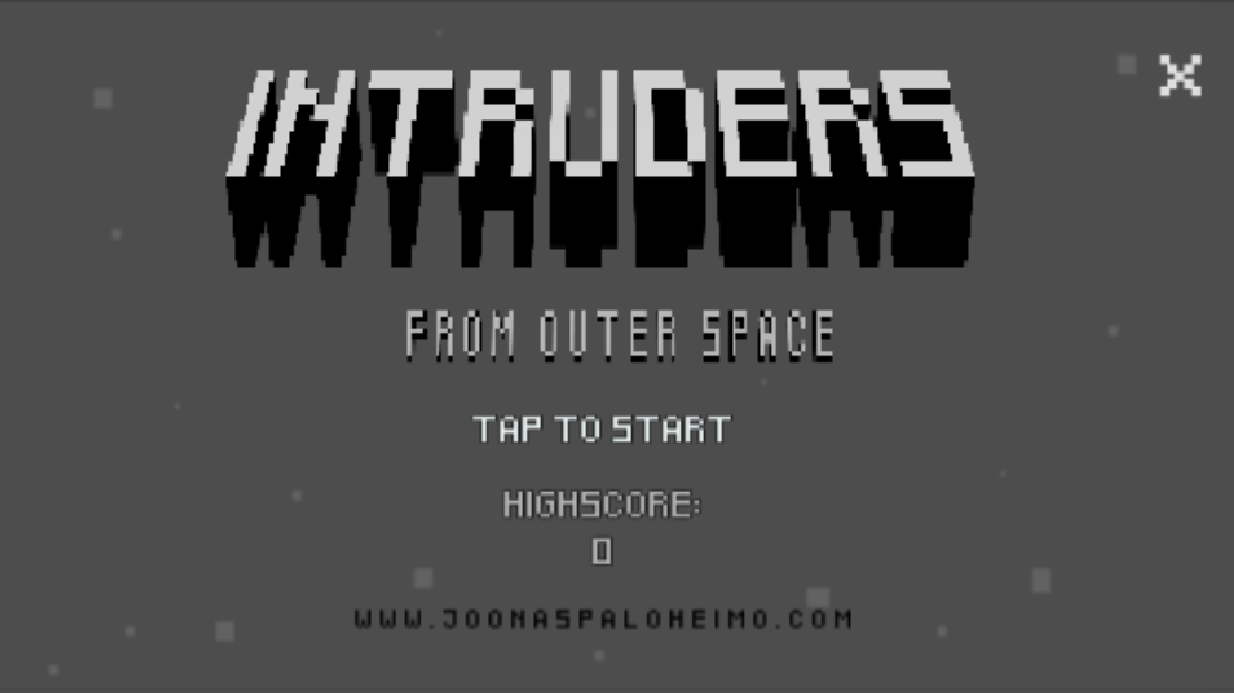Intruders From Outer Space- screenshot