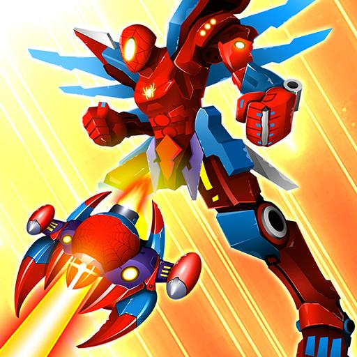 Thunder Fighter Superhero: Strikers Shoot 'Em Up Icon