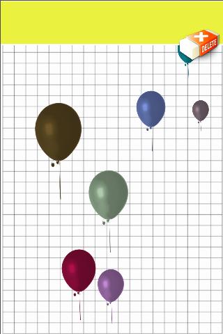 Balloon POP Blots Drop