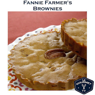 Fannie Farmer's 1896 Brownies