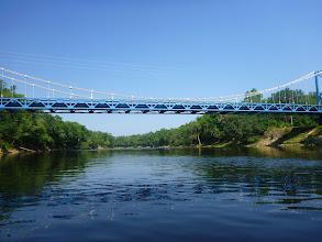 Photo: put-in was at the Hal Adams bridge