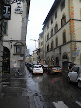 Photo: A typical Florence street