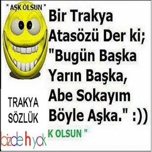 Trakya Sözlük - náhled