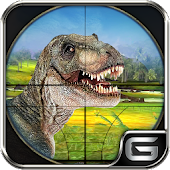 Dino Hunting Sniper Shooter: Safari Hunter 3D