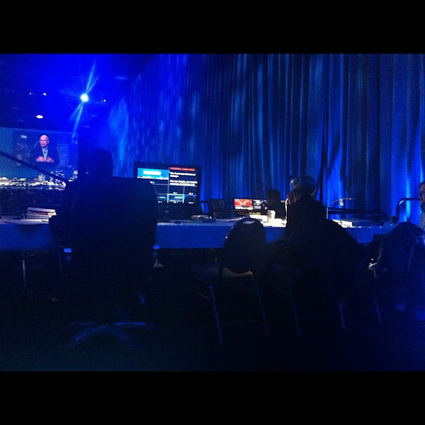 Photo: Behind the scenes at the CSC Global Sales Conference