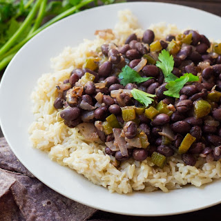 The PERFECT Black Bean and Rice