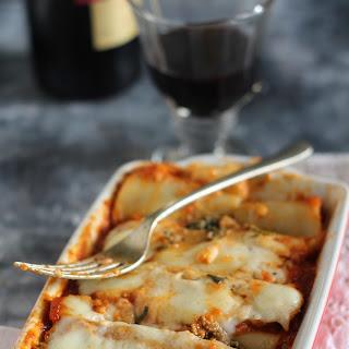 Keema Lasagna Cannelloni Recipe.