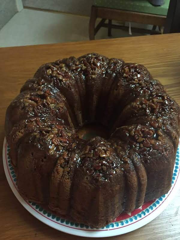 Rich From The Brown Sugar, And A Great Cinnamon Flavor Imparted In The Cake And Through The Glaze.  A Great Fall Dessert!