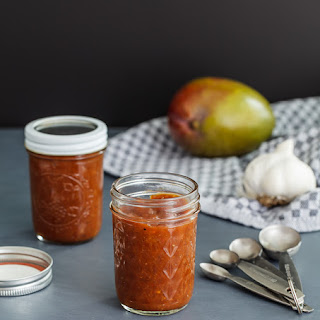 Chipotle Mango Barbecue Sauce