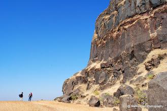 Photo: Now one can imagine the height of Bini Cha Buruj... Where we were half an hour back....