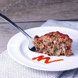 Chorizo Meatloaf.