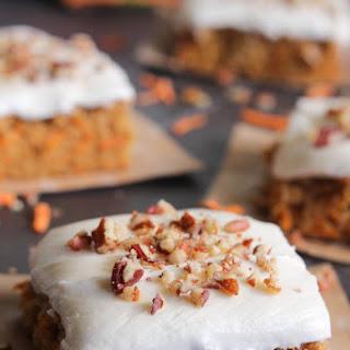 Sweet Potato Cake with Marshmallow Frosting.