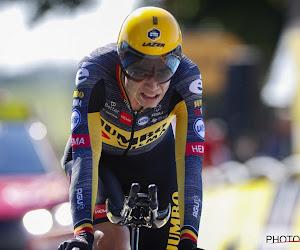 Wout van Aert panikeert na zege van Tim Merlier in Benelux Tour