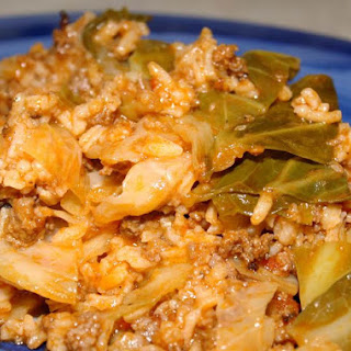 Cabbage Roll Casserole.