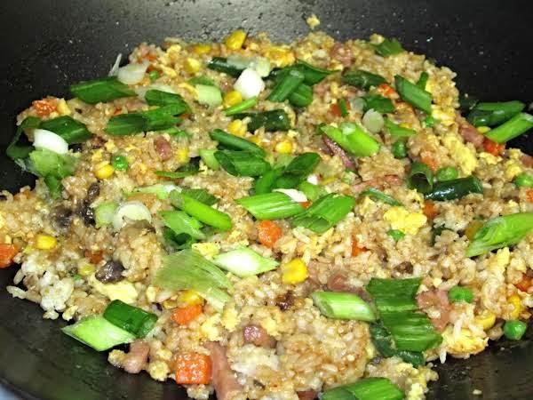 Yangzhou fried rice recipe just a pinch recipes yangzhou fried rice ccuart Images