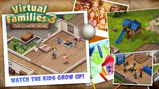 Virtual Families 3 Mod Apk (Unlimited Money) 3