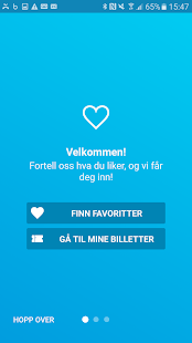 Ticketmaster Norge- screenshot thumbnail