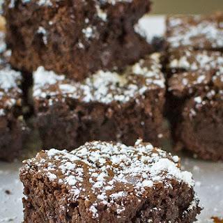 Dark Chocolate Fudgy Brownie.