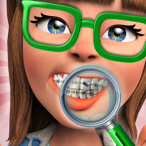 Braces Surgery Simulator : A Dentist Hospital Game