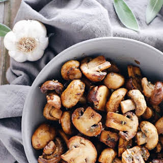 Garlic and Sage Brown Butter Mushrooms (Paleo + Gluten-Free).
