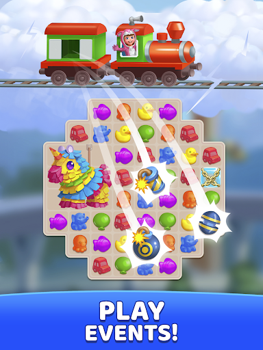 Fun Town: Build theme parks & play match 3 games screenshots 14