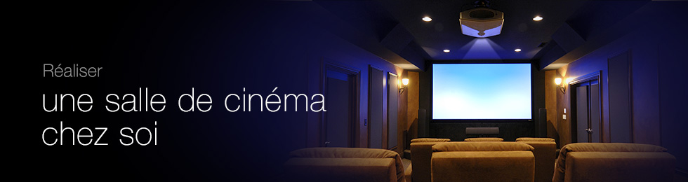 Réaliser une salle de cinéma chez soi