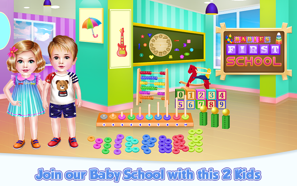Babies First School- screenshot