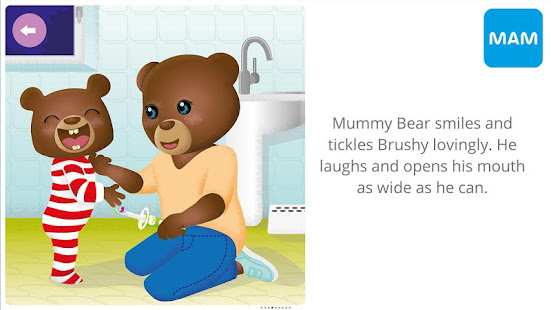 MAM Brushy Time! Toothbrushing App for Toddlers