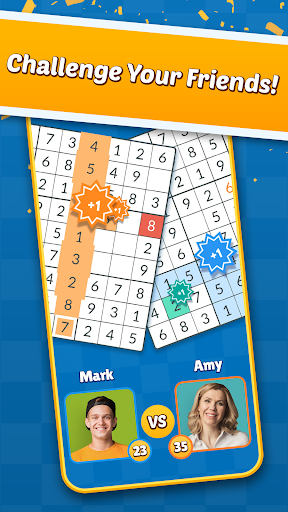 Sudoku Friends - Multiplayer Puzzle Game android2mod screenshots 2