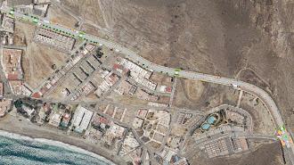 Imagen del plano de la zona del municipio donde se ejecutará el proyecto.