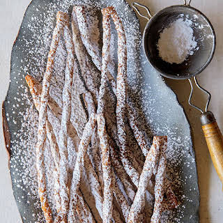 Chai Spiced Russian Twig Cookies.