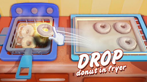 Donut Maker 3d - Sweet Bakery & Cake Shop 1.0 screenshots 4