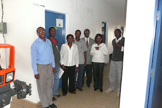 Photo: The SRI Resource Center at the National Irrigation Board (MIAD Center) in Mwea Irrigation Scheme in the Central Province, Kenya [Photo Courtesy of Bancy Mati, 2010]