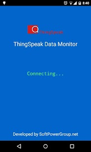 IoT ThingSpeak Data Monitor- screenshot thumbnail