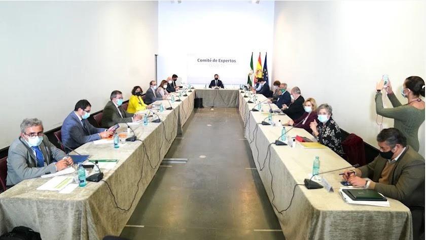 Reunión del comité de expertos.