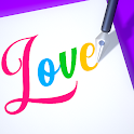 Lettering 3D icon