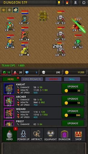 Grow Heroes Vip : Idle RPG  image 5
