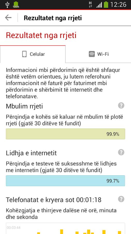 My Vodafone (AL)- screenshot