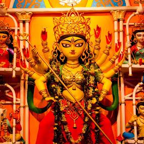 Goddess Durga by Rajib Banik - Artistic Objects Other Objects ( goddess durga )